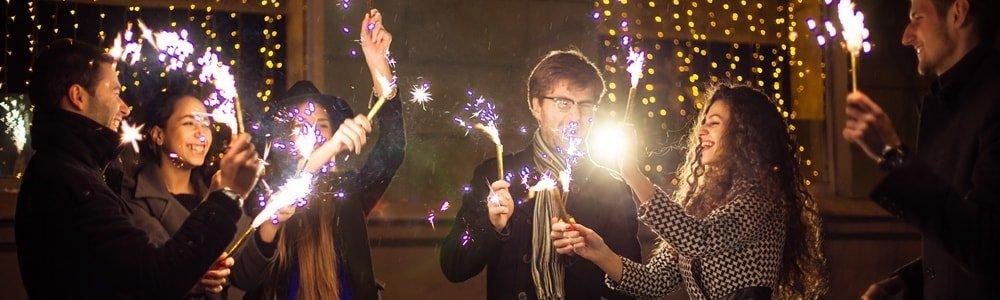 Silvester Düsseldorf Feuerwerk