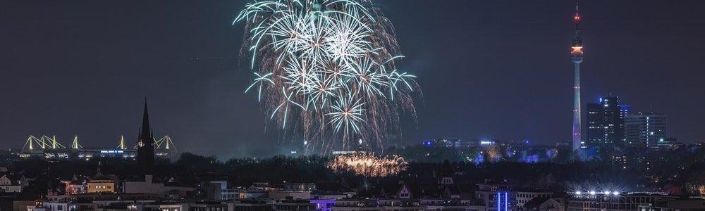 Silvester Dortmund Feuerwerk