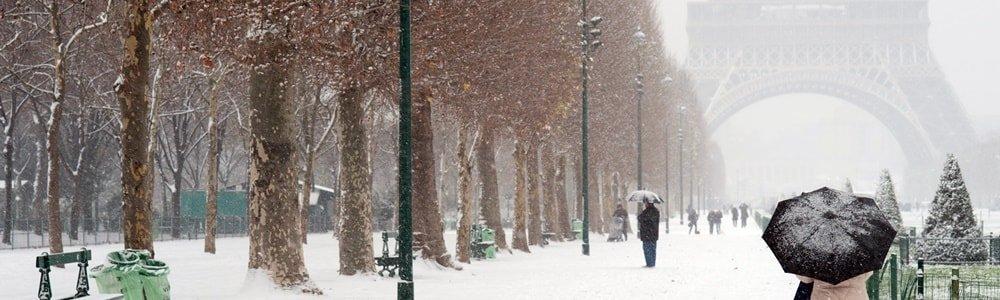 Silvester Paris Dezember
