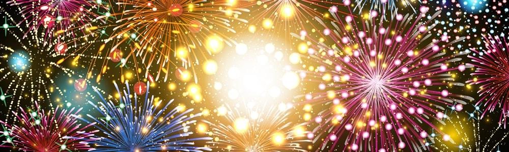 Silvester Paris Disnelyland Feuerwerk