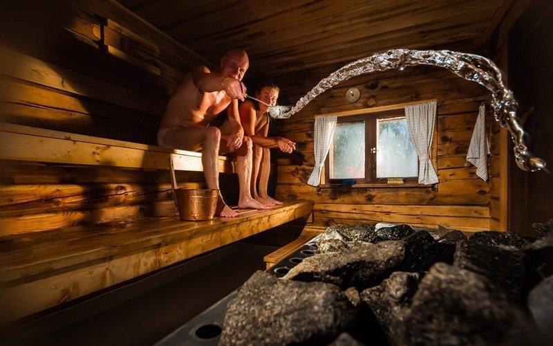 Cassiopeia Therme Sauna