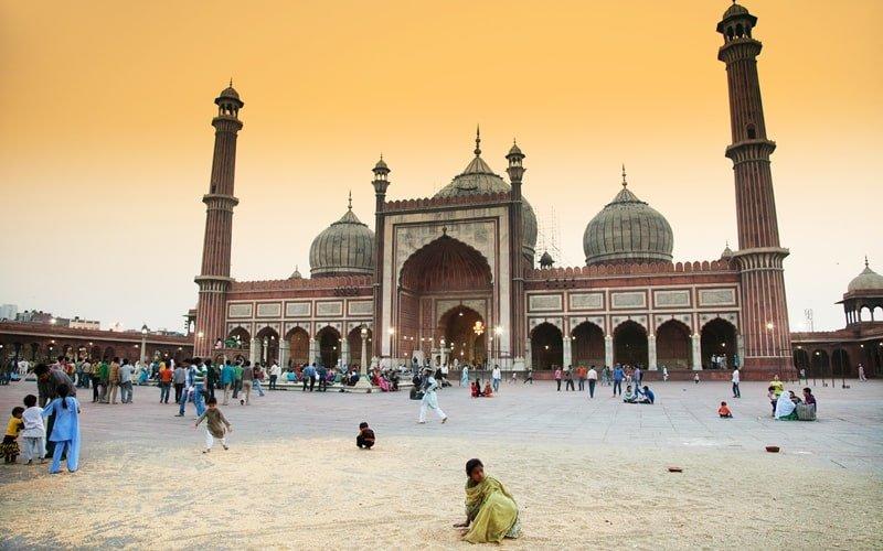Masjid Moschee Delhi