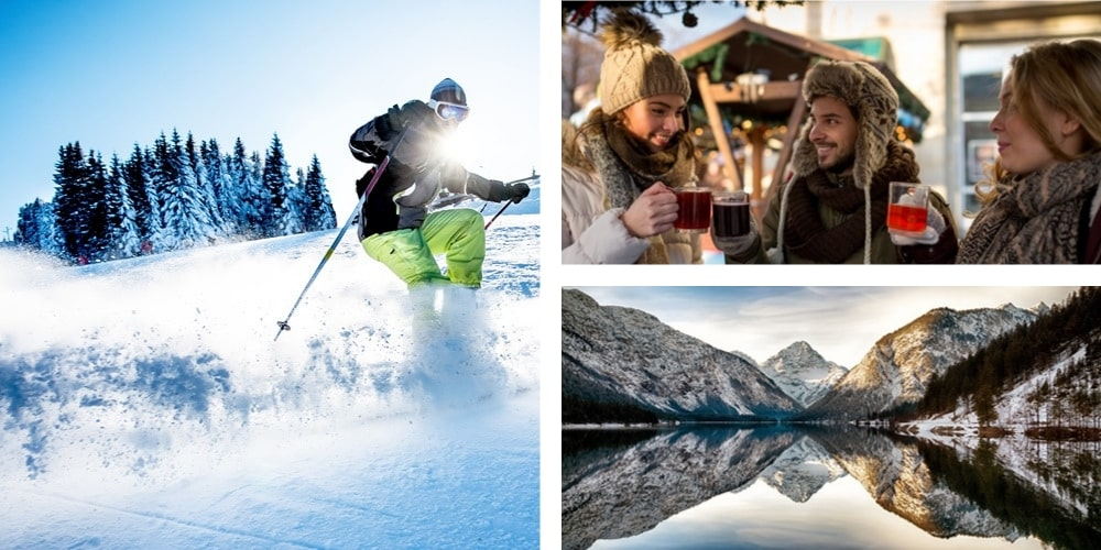 Österreich Urlaub Januar