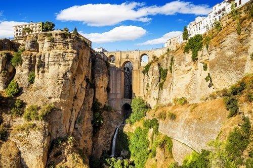Brücke von Ronda Malaga