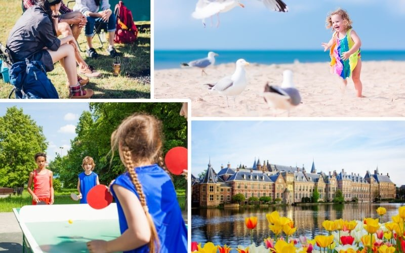 Ferienpark und Campingplatz Kijkduin