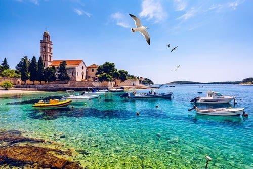 Hvar Kroatien