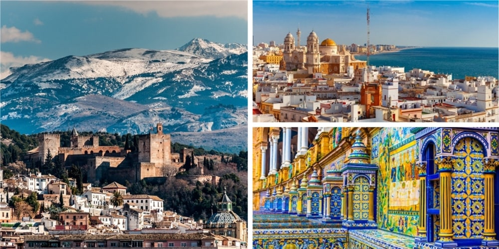 Reiseziel Andalusien Februar
