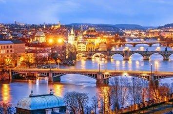 Reiseziel Februar Prag