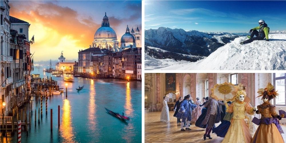 Reiseziel Italien Februar