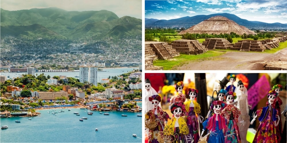 Reiseziel Mexiko Februar