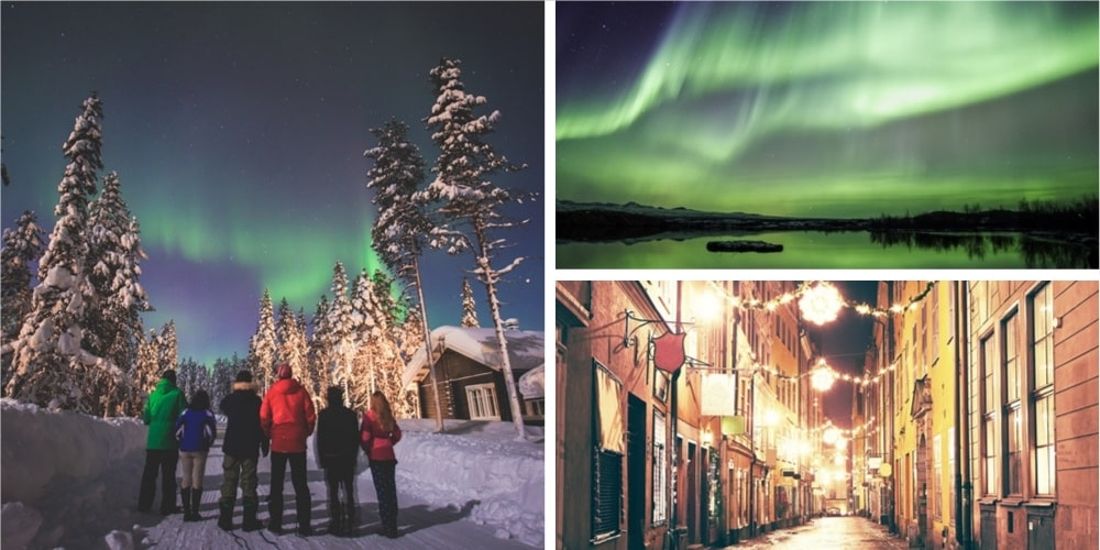 Reiseziel Skandinavien Februar