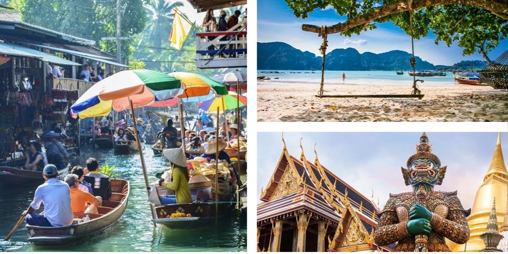 Resieziele Thailand Januar