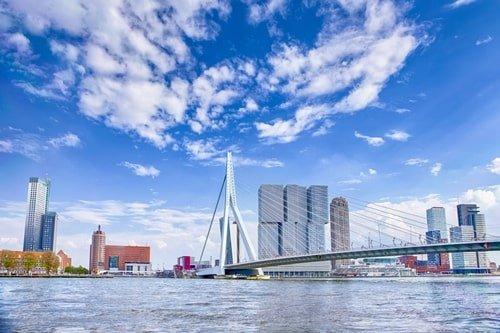Rotterdam in Holland