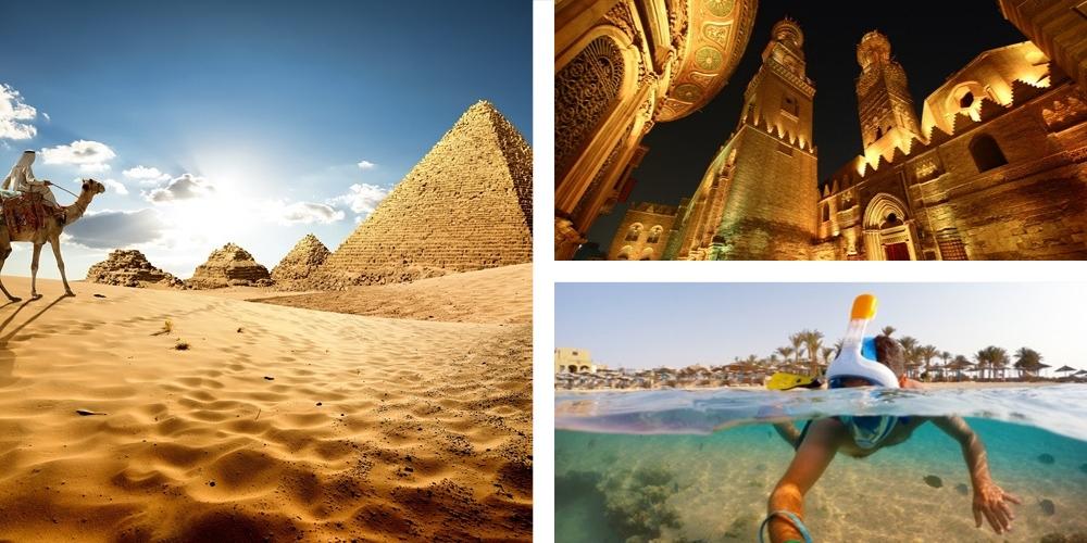 Urlaub Januar Ägypten