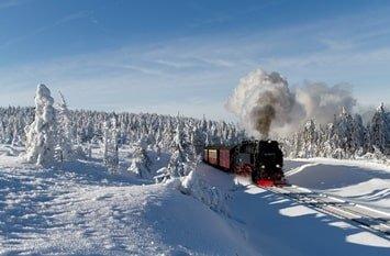 Urlaub Januar Harz