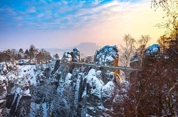 Urlaub Januar Sachsen