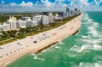 Urlaub Miami Februar