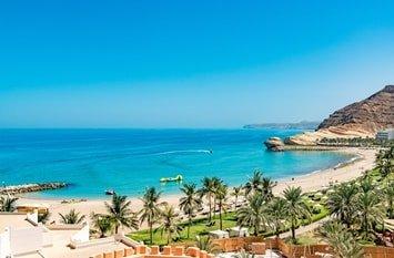 Urlaubsziel Oman Strand