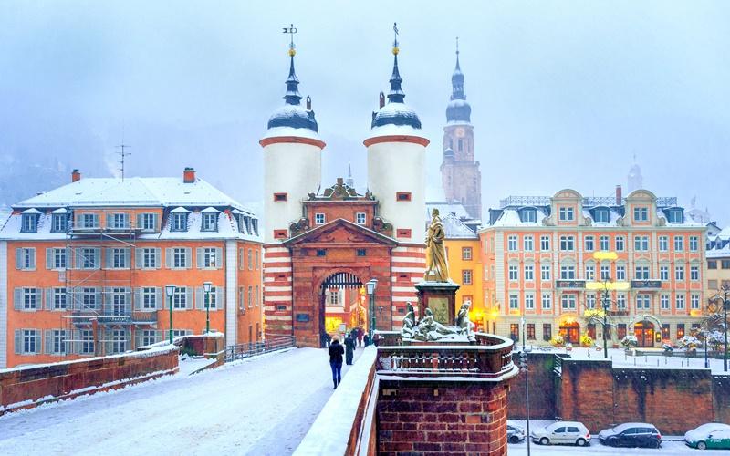 Alte Brücke Heidelberg Sehenswürdigkeiten