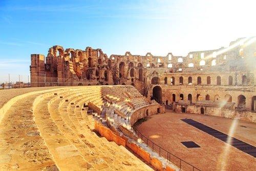 Amphitheater El Jem Tunesien