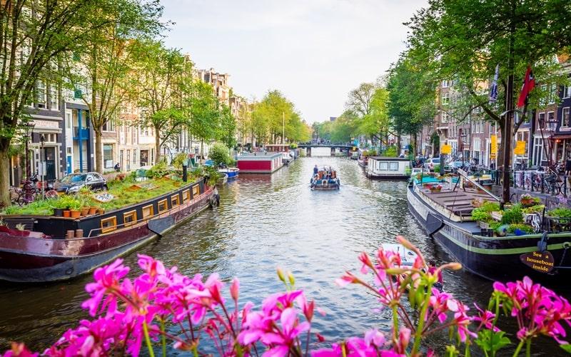 Schöne Städte Holland Amsterdam