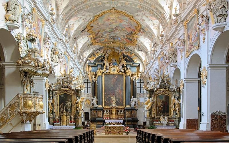 Basilia St. Emmeram Regensburg