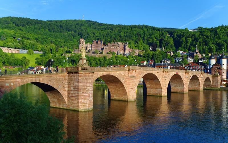 Brücke Heidelberg Neckar Sehenswürdigkeiten