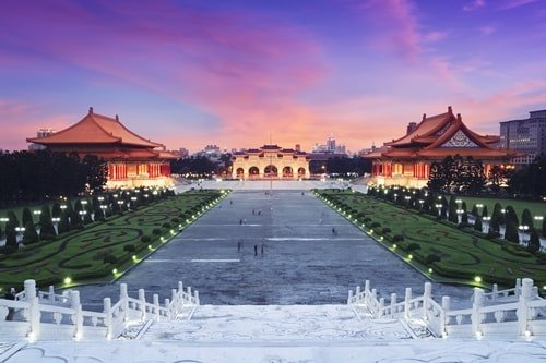 Chiang Kai-shek Memorial Taipeh