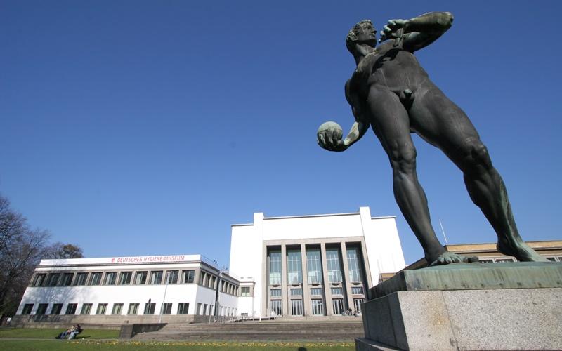 Dresden Deutschland Sehenswürdigkeiten Hygiene Museum