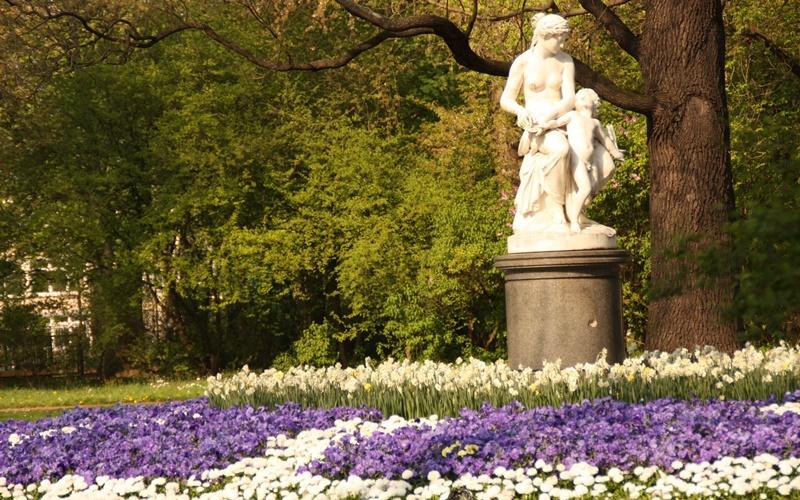 Dresden Karte Sehenswürdigkeiten großer garten