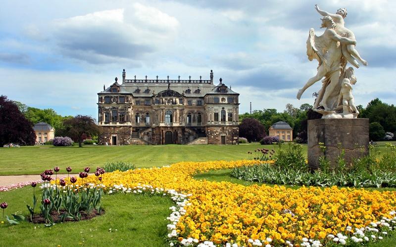 Dresden Umgebung Sehenswürdigkeiten großer garten