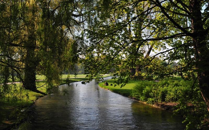 Englischer Garten München Sehenswürdigkeit umgebung