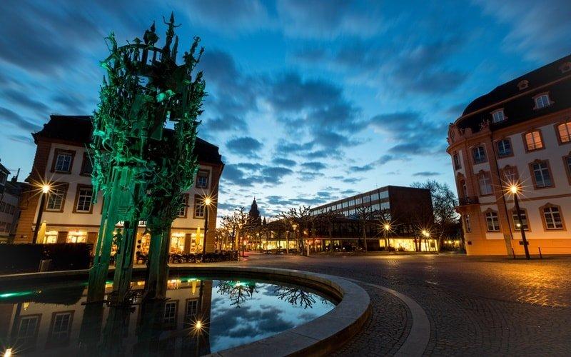 Fastnachtsbrunnen Mainz Altstadt