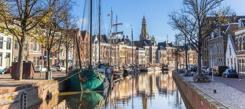 Groningen in Holland