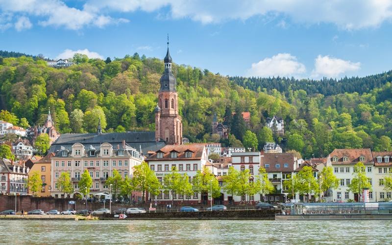 Heidelberg Sehenswürdigkeiten Neckar