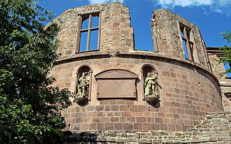 Heidelberger Schloss Sehenswürdigkeiten Heidelberg Ruine