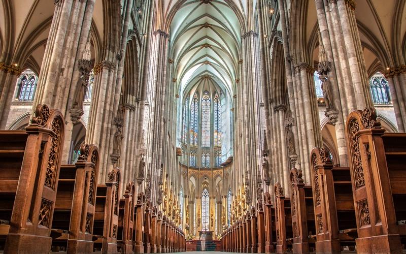 Köln Altstadt Sehenswürdigkeiten Dom Inneres