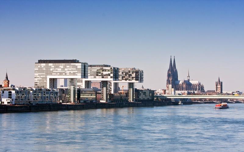Köln Südstadt Sehenswürdigkeiten Rheinauhafen