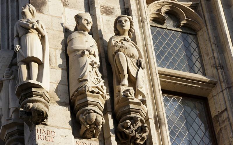 Köln Sehenswürdigkeiten Insider Rathaus Fassade