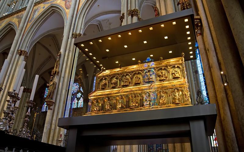 Köln Sehenswürdigkeiten Köln Dom Dreikönigenschrein