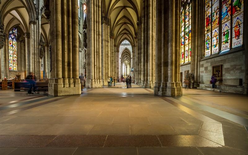 Köln Sehenswürdigkeiten Kölner Dom innen