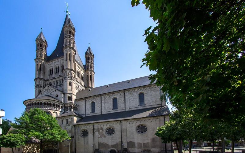 Köln Sehenswürdigkeiten top 10 St. Martin