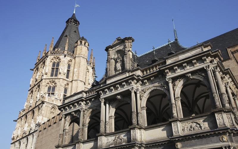 Köln Stadtplan Sehenswürdigkeiten Rathaus Köln