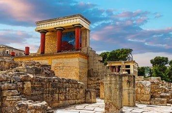 Knossos Kreta Mai