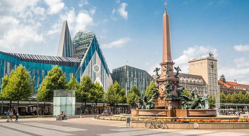 Leipzig Altstadt Sehenswürdigkeiten Augustusplatz