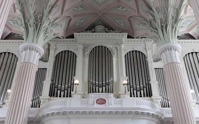 Leipzig Innenstadt Sehenswürdigkeiten Nikolaikirche Orgel