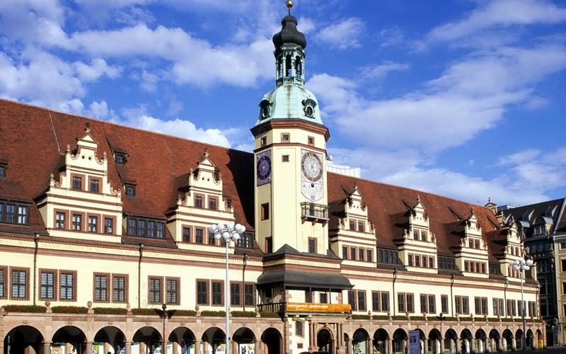 Leipzig Sehenswürdigkeiten Karte Altes Rathaus