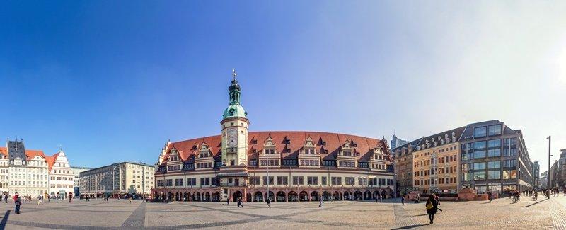 Leipzig Sehenswürdigkeiten Stadtplan Marktplatz