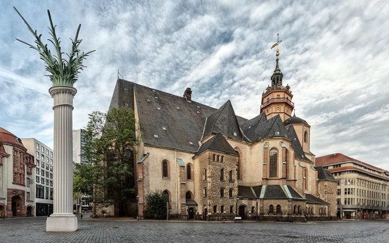 Leipzig Sehenswürdigkeiten Zentrum Nikolaikirche