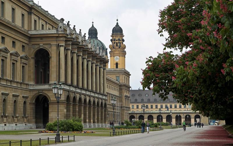 München Deutschland Sehenswürdigkeiten Residenz München